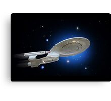 USS Enterprise Canvas Print