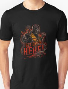 Get Over HERE bae! Unisex T-Shirt