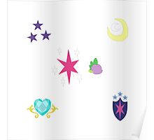 My little Pony - Sparkle Family Cutie Mark Special V2 Poster