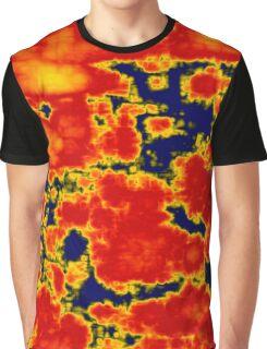 Cosmic Molten Mix Graphic T-Shirt