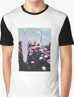 Cyber Roses Graphic T-Shirt