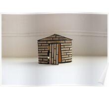 Matchbox House #1 Poster