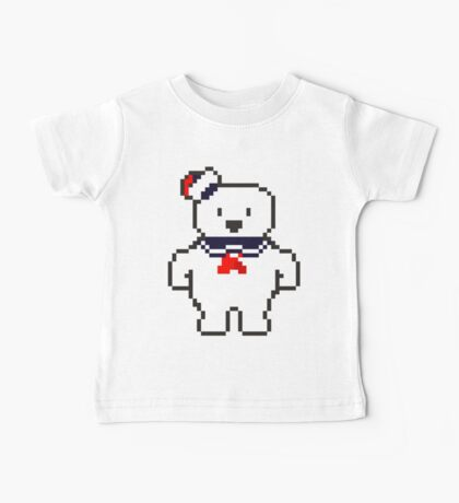 Stay Puft Marshmallow man Baby Tee
