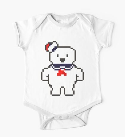 Stay Puft Marshmallow man One Piece - Short Sleeve
