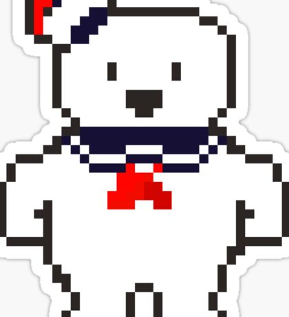 Stay Puft Marshmallow man Sticker