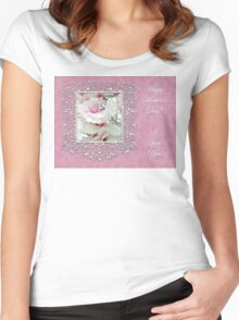 Mother's Day Greeting Card - Tulip Tree Women's Fitted Scoop T-Shirt