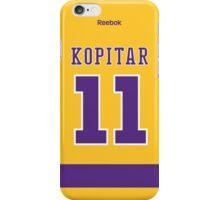 Los Angeles Kings Anze Kopitar Throwback Jersey Back Phone Case iPhone Case/Skin