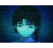 Lain on Internet Photographic Print