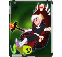 It feels good to be evil iPad Case/Skin