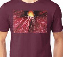Red Dutchman's Pipe Flower - Macro Unisex T-Shirt