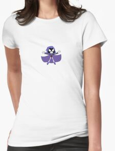 RAVEN - TEEN TITANS GO Womens Fitted T-Shirt