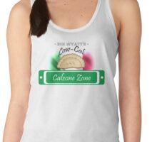 Low-Cal Calzone Zone Women's Tank Top