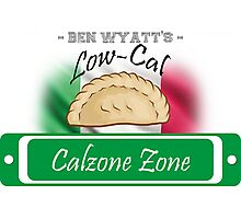 Low-Cal Calzone Zone Photographic Print