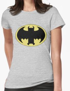 The Bat Symbol from Venture Bros. Womens Fitted T-Shirt