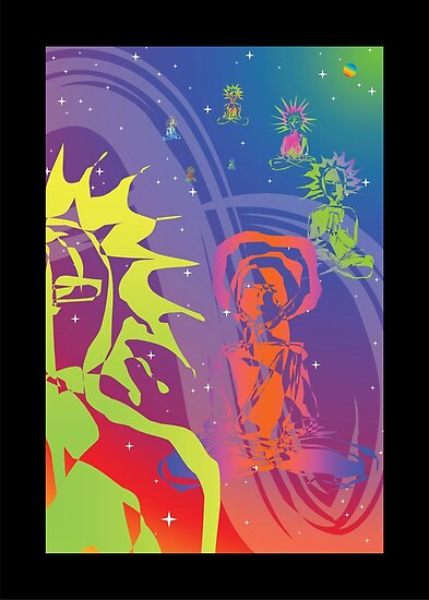 Cosmic Parade (2008) by Infinite Path  Creations