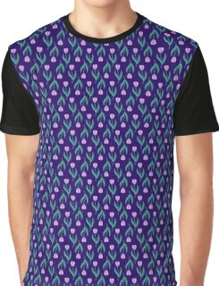 Midnight Tulips Graphic T-Shirt