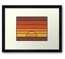Renegade Sunset Framed Print