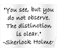 You See But Do Not Observe Poster