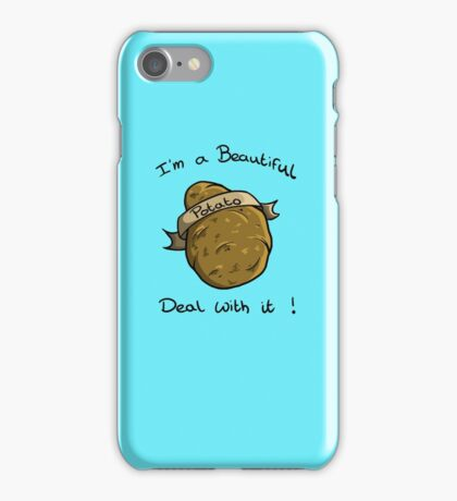 Beautiful Potato ! iPhone Case/Skin