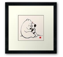Close To Your Heart Framed Print