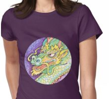 Dragon drawing - 2015 Womens Fitted T-Shirt