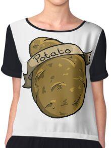 Potato Chiffon Top