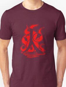 Fire Clan Symbol V3 (Transparent) T-Shirt