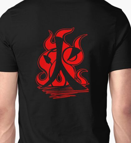 Fire Clan Symbol V3 (Transparent) Unisex T-Shirt
