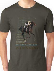 Triple Crown Winners 2015 American Pharoah Unisex T-Shirt