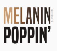 MELANIN POPPIN' Kids Tee