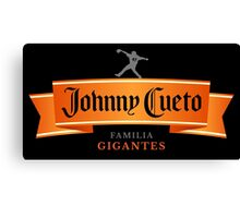 Johnny Cuervo Canvas Print