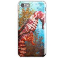 Galapagos Seahorses iPhone Case/Skin