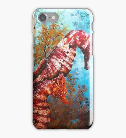 Galapagos Seahorses iPhone Case/Skin