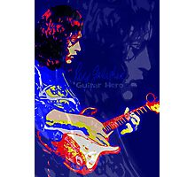 RORY GALLAGHER GUITAR HERO Photographic Print