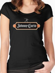 Johnny Cuervo #2 Women's Fitted Scoop T-Shirt