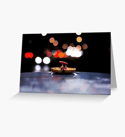 Miniature World #2 Greeting Card