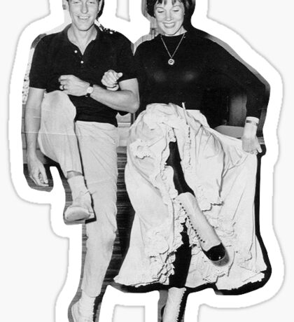 Dick Van Dyke & Julie Andrews Sticker
