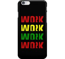 Work (Africa Design) iPhone Case/Skin