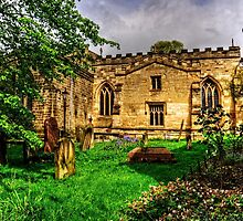 Pickering Parish Church Graveyard by Tom Gomez