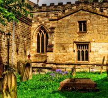 Pickering Parish Church Graveyard Sticker