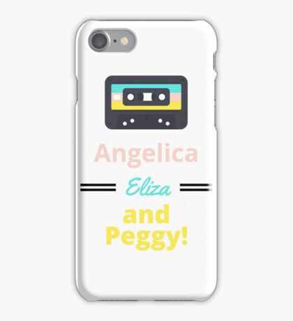 Schuyler Sisters Mixtape iPhone Case/Skin