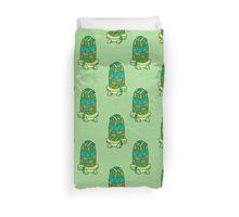 Long Turtle Pattern Duvet Cover
