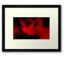 Hells Fury Framed Print