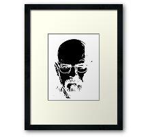 Walter White minimal Framed Print