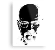 Walter White minimal Metal Print