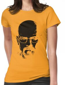 Walter White minimal Womens Fitted T-Shirt