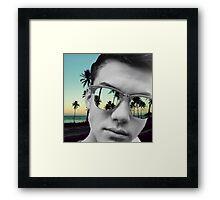 Grayson Dolan Sunset  Framed Print