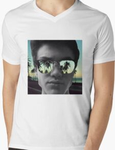 Ethan Dolan sunset Mens V-Neck T-Shirt