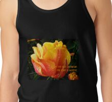 ADOPT THE PACE OF NATURE  Tank Top