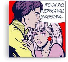 Pop Jem & Rio Canvas Print